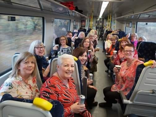 One of the great things about Glow is the very active social life, we're forever going on Glow Girls Days Out eg walks, theatre trips, a day in the city, morning coffee, lunch, dinner, spa days and even fabulous weekends away!
